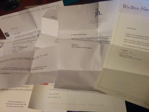 A smattering of the nicer rejection letters