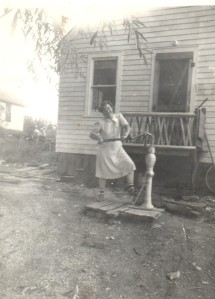 My grandmother, Virginia Tjaden--a woman not to be trifled with.