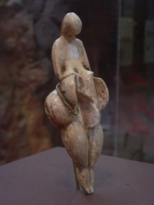 Venus Fertility Goddess from Falkenstein Austria 6000 BP