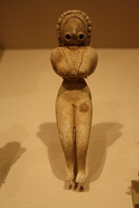 Indus Valley Terracotta Figurine of a Fertility Goddess, Pakistan/Western India Circa: 3000 BC to 2500 BCE