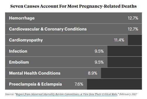 Causes of Death in Childbirth