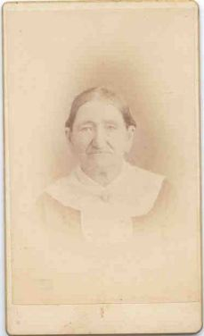 Louisa Miller, ancestor of my maternal great-grandfather, late 1800s