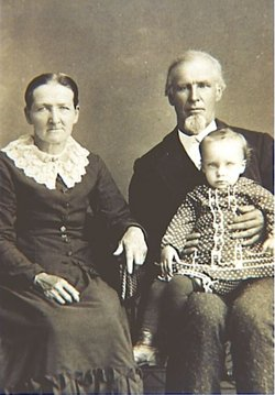 Nancy Clark and Thomas Warner, ancestors of my maternal great-grandfather, late 1800s