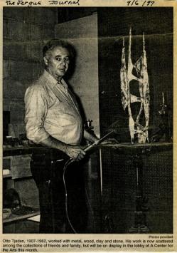 Otto Tjaden sculptor