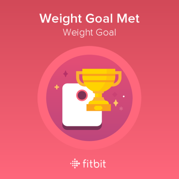 Weight Goal Met