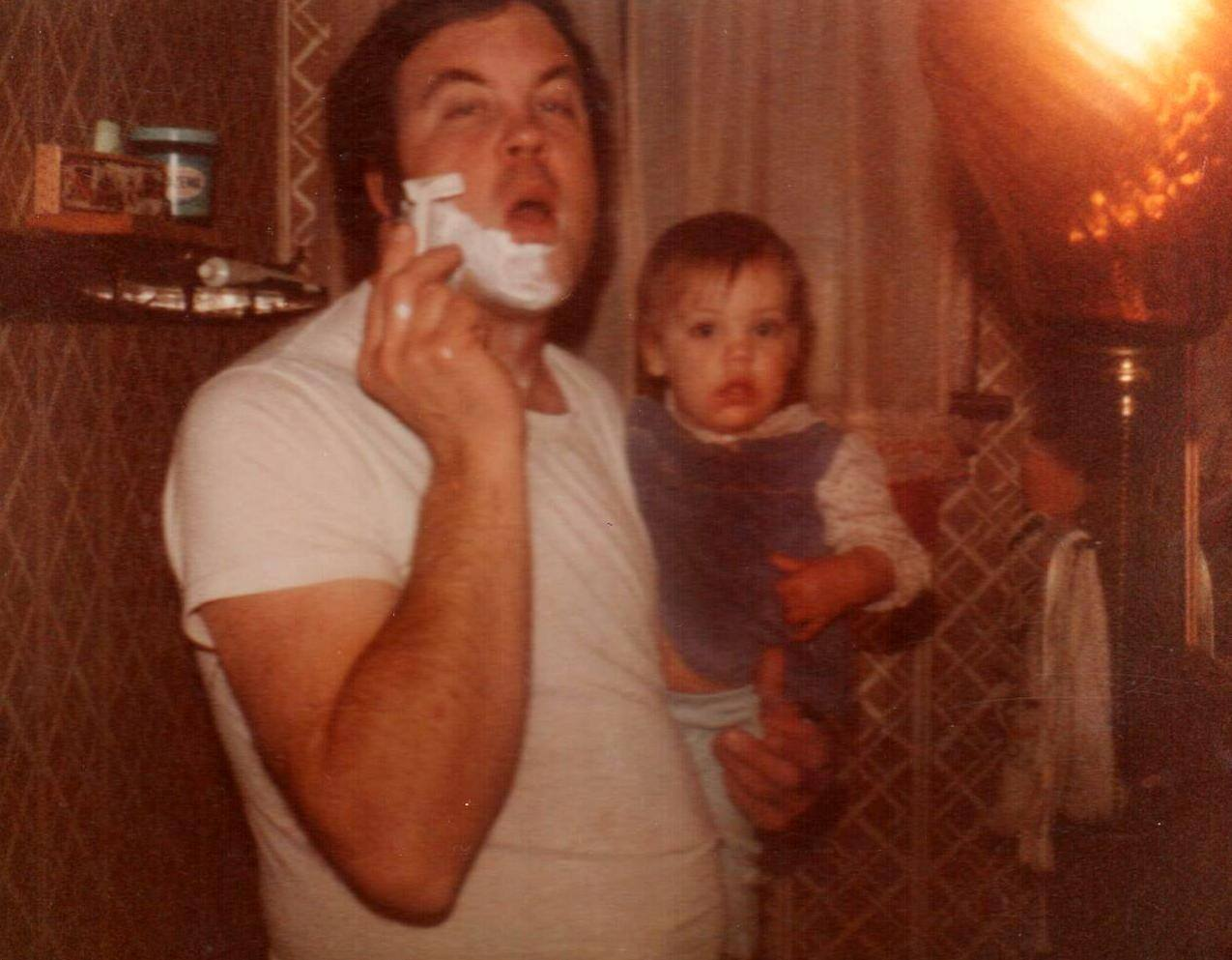 Dad and Sharon 1982