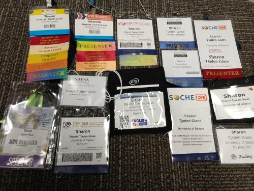 presenter badges